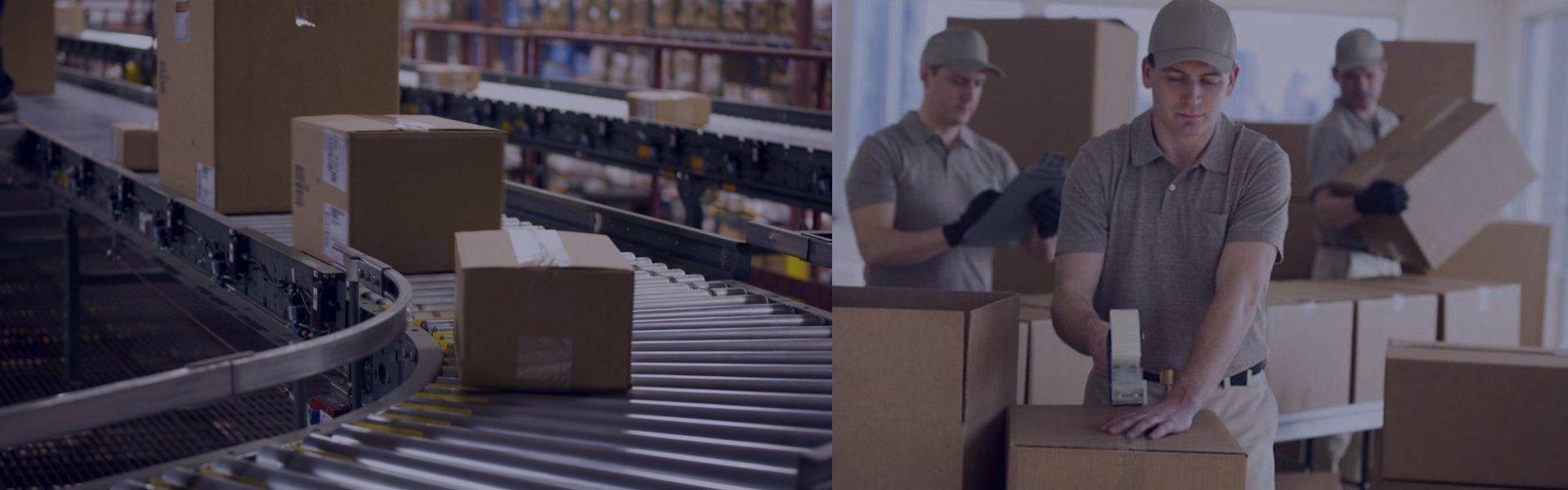 Stoccaggio, raccolta e imballaggio, servizio pacchi, tutto in uno e più economico